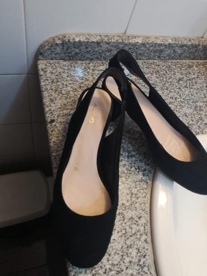 Zapatos De Gamuza Marca Aldo Talle 39 De Argentina