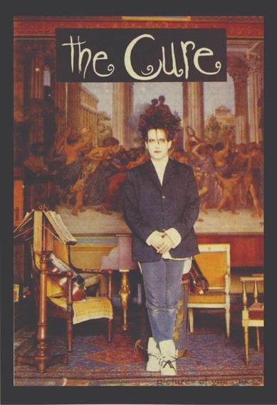 Quadro The Cure Robert Smith Rock Musica