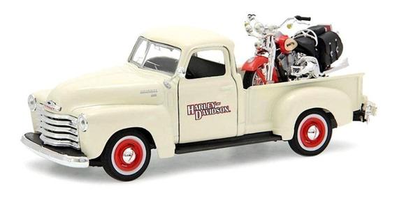 Miniatura Chevy 3100 1950 1/25 Flsts H Springer Maisto 1/24