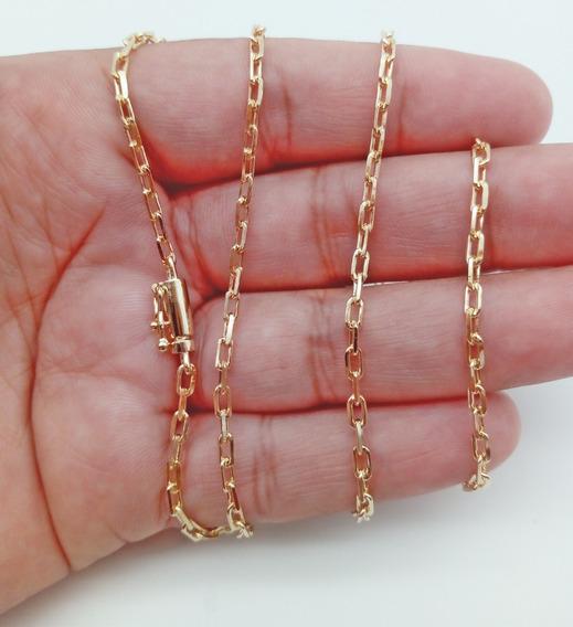Corrente Cordão 70cm 8g Banhada Ouro 18k Cartier 218