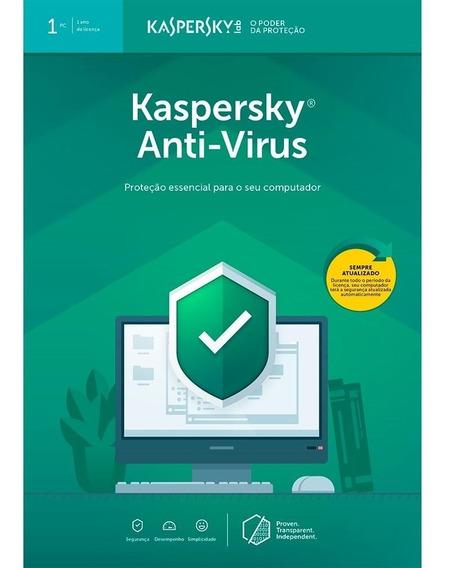 Antivirus 2019 Kaspersky 35% Desconto - 05 Licenças