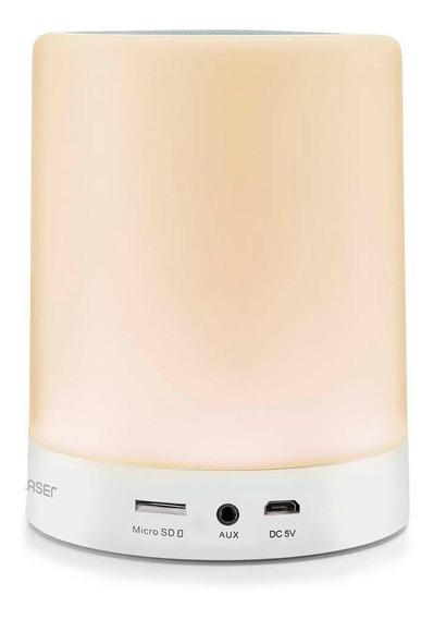 Caixa De Som Led Light Multilaser Aux, Sd, Bluetooth®, Sp287