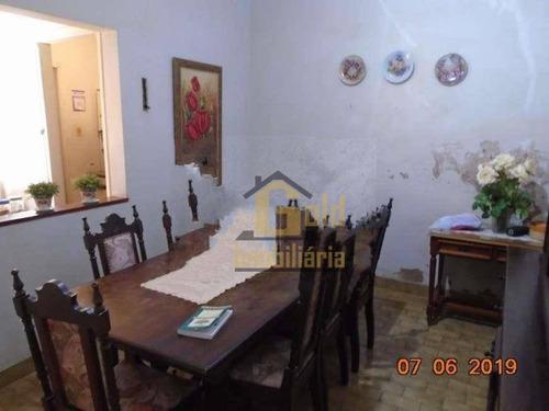 Casa Com 3 Dormitórios À Venda, 79 M² Por R$ 250.000 - Centro - Ribeirão Preto/sp - Ca1097