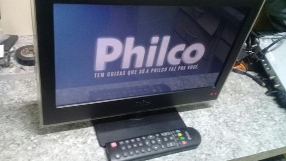 Tv Philco 16 Com Conversor (ler Descriçao)