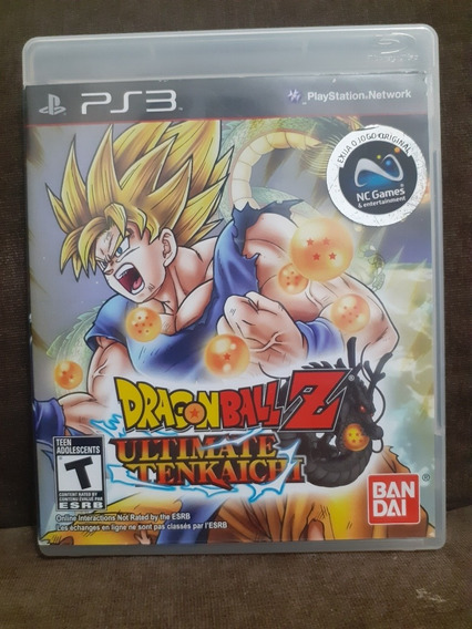 Dragon Ball Z Ultimate Tenkaichi Ps3 Mídia Física