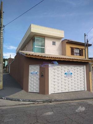 Sobrado Com 3 Dormitórios À Venda, 141 M² Por R$ 595.000 - Jardim Vila Formosa - São Paulo/sp - So0068