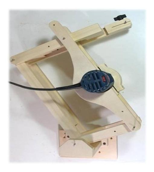 Guia Construye Pantógrafo Duplicador Router Fresador Dremel