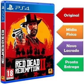 Red Dead Redemption 2 Ps4 Mídia Física Lacrado Novo Original