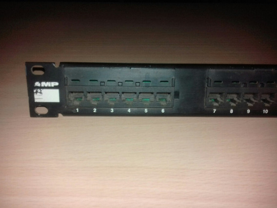 Patchera Amp 24 Ports Cat5e