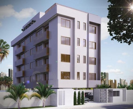 Apartamento Para Venda Em Cabedelo, Intermares, 1 Dormitório, 1 Suíte, 1 Banheiro, 1 Vaga - 7654