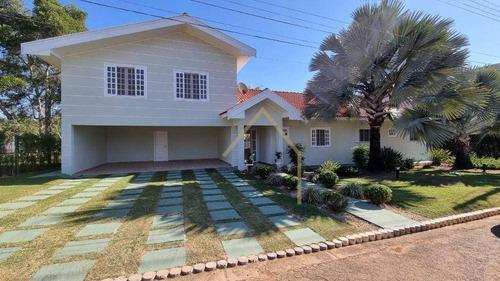 Imagem 1 de 30 de Casa Com 4 Dormitórios E Piscina Dentro De Condomínio Fechado - Ca1714
