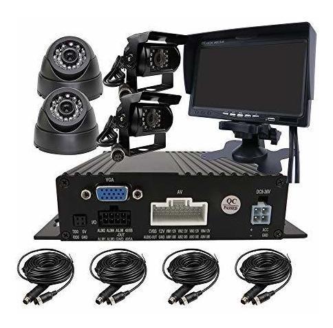 Joinlgo 4 Canales H.264 720p Ahd Sd Dual Móvil Del Vehícul