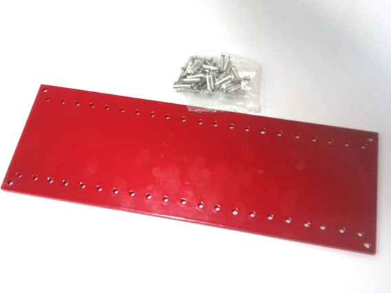 Placa 21cm *7,5cm Com Ilhos P Montar Amplificador Valvulado