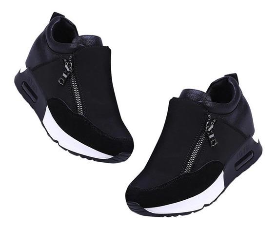 Zapatillas De Deporte De Mujer De Plataforma Zapatos
