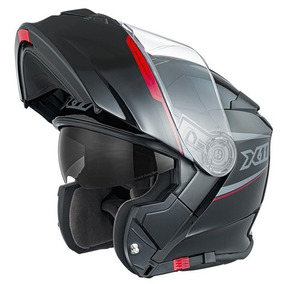 Capacete De Moto X11 Turner Escamoteável Robocop Promoção