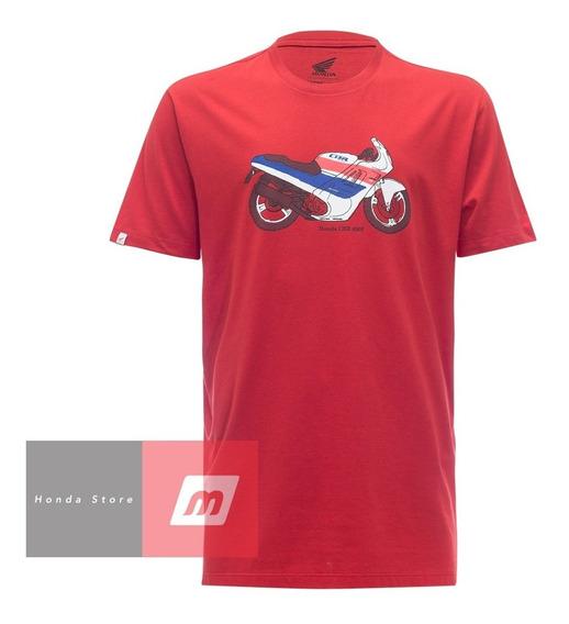 Camiseta Moto Honda Cbr 600f Vermelha - Coleção Vintage