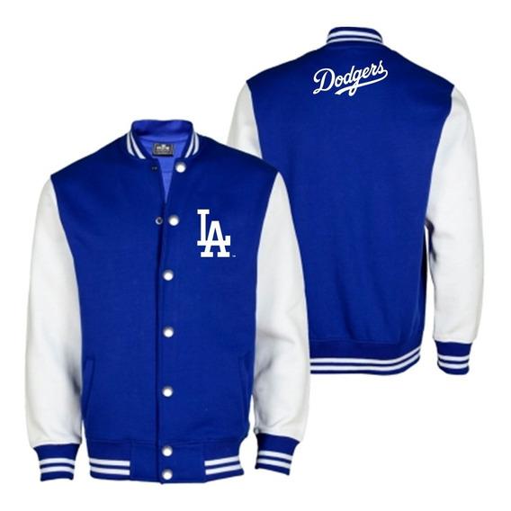 Chaqueta Universitaria Mlb La Dodgers Estampados