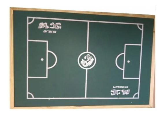 Futebol De Botão Campo + 2 Times Brinquedo / Envio Imediato