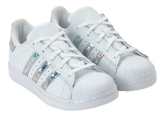 Tênis Infantil adidas Superstar J (33 Ao 36)