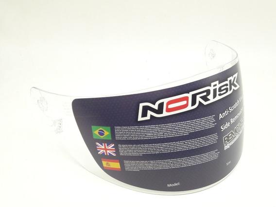 Viseira Norisk Ff391 389 Ls2 Ff369 Cristal Original Norisk