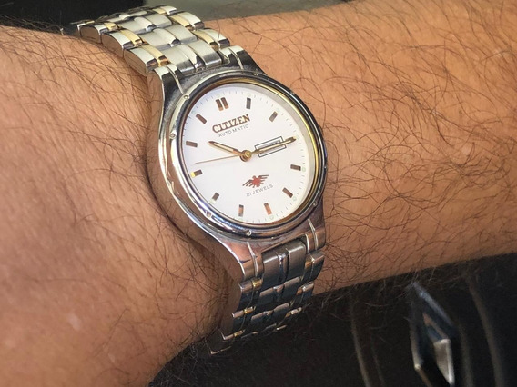 Relógio Citizen Automatico , Feminino, Prata/dourado.