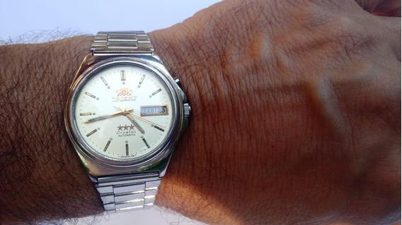 Relógio Orient Automático Masculino Antigo Perfeito