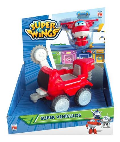 Imagen 1 de 2 de Vehículo Súper Wings Con Figura Básica Fotorama