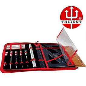 Kit Desenho Pasta Desetec Trident Kit-da3
