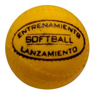 Pelota Softball Goma Espuma Deportes Full
