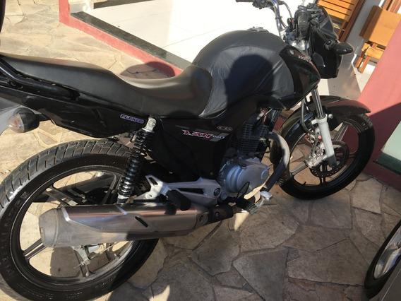 Honda Fan 150 Com Aro Estrela E Pneu Sem Camara