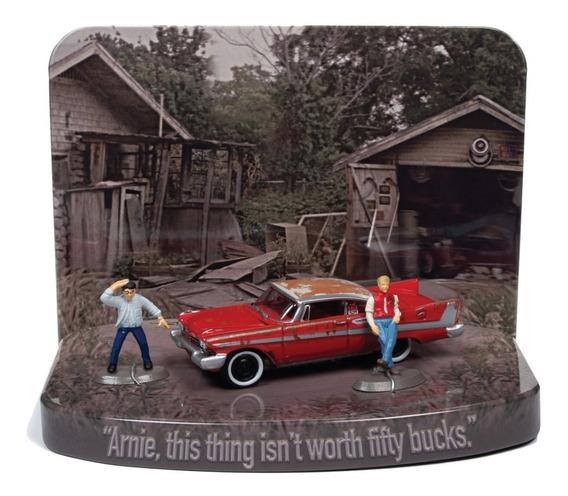 Johnny Lightning Christine Plymouth Fury Figuras Solo Envios