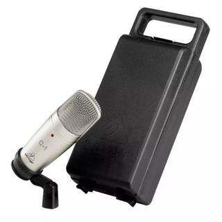 Behringer C-1 Micrófono Condenser Estudio + Pipeta C1 Oferta
