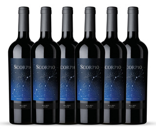 Vino Scorpio - Malbec (caja X 6)