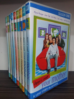 Box Dvd How I Met Your Mother Completa Legendada E Dublada