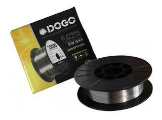 Rollo Alambre Flux Para Soldar Mig Dogo 0.9 Mm Por 450 G