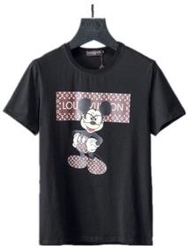 Camiseta Lv Louis Vuitton Miky Lancamento Pronta Entrega