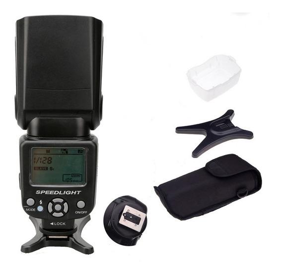 Flash Para Canon 6d 7d 70d 60d T6 T6i 550d 1100d 70d 80d Sl2