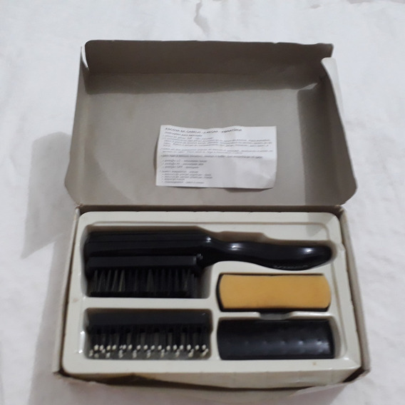 Escova De Cabelo Elétrica - 5 Peças - Vibratória A Pilha 21