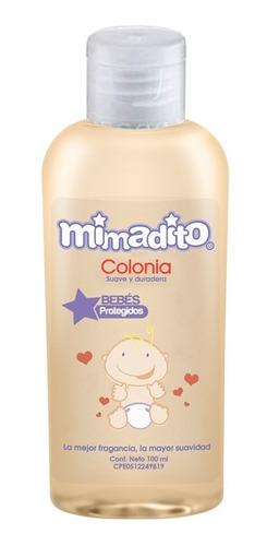 Colonia Mini Para Bebé Mimadito 100 Ml Caja 12 Unidades
