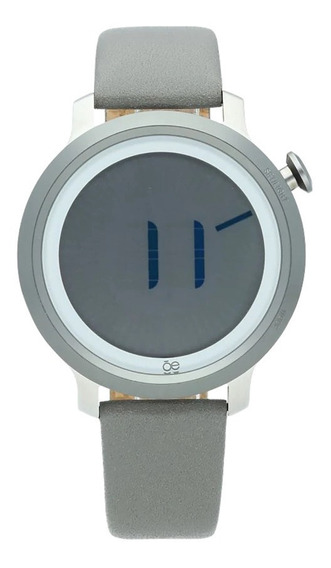 Reloj Cloe Carlie Gray Leather Gray - Oe1902-gy