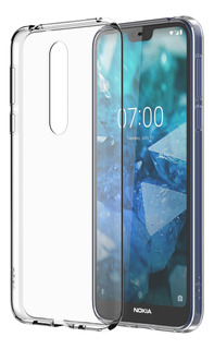 Funda Clear Transparente Nokia 7.1