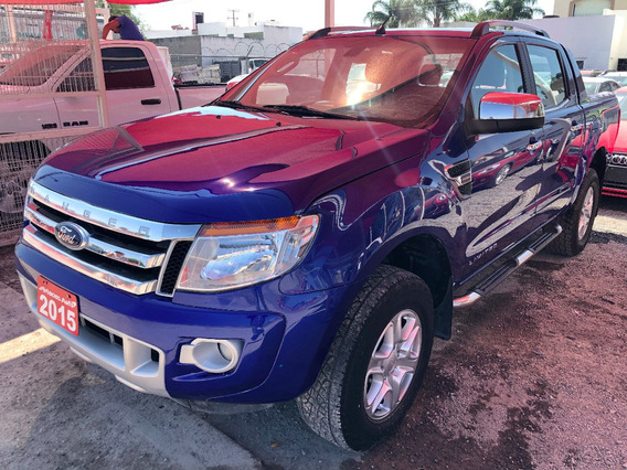 Ford Ranger Limited Doble Cabina Tm5 2015 Credito Recibo Fin