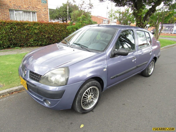Renault Symbol Alize 1.4 Mecanico Sedan