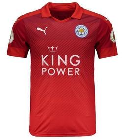 Camisa Puma Leicester City Away 2017 Premier League