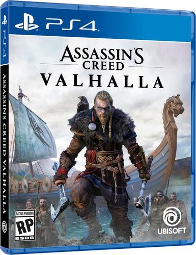Assassins Creed Valhalla Ps4 Fisico Original Nuevo Sellado