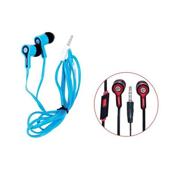 Fone P2 Auricular C/ Mic Exbom Ef-800mv Sem Embalagem