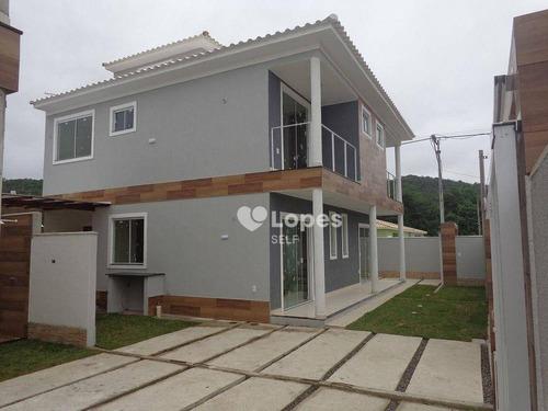 Imagem 1 de 20 de Casa Com 2 Quartos, 81 M² Por                  350000345.00 0000000 000 - Jardim Atlântico Oeste (itaipuaçu) - Maricá/rj - Ca20678