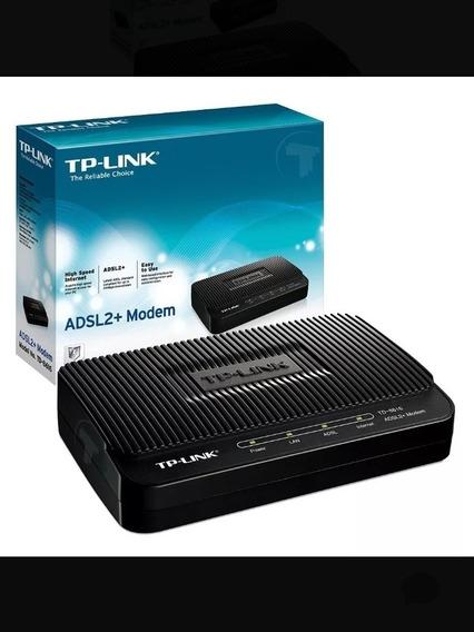 Módem Tp-link Adsl2 + Módem Hd 8616 Banda Ancha Internet