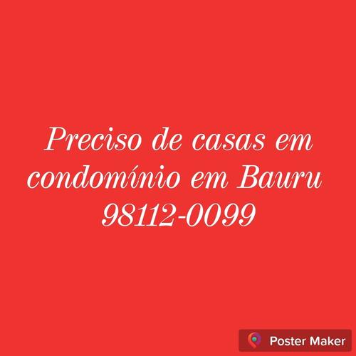 Compro Casa Em Condomínio Em Bauru