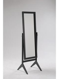 Espejo De Piso Clásico Negro + ¡envio Gratis!